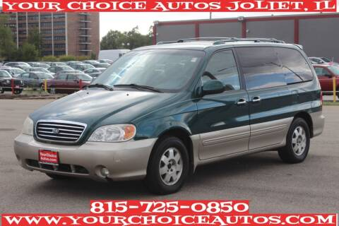 2002 Kia Sedona for sale at Your Choice Autos - Joliet in Joliet IL