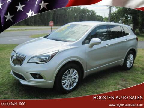 2017 Buick Envision for sale at HOGSTEN AUTO WHOLESALE in Ocala FL