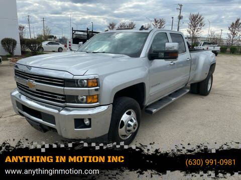 2016 Chevrolet Silverado 3500HD for sale at ANYTHING IN MOTION INC in Bolingbrook IL