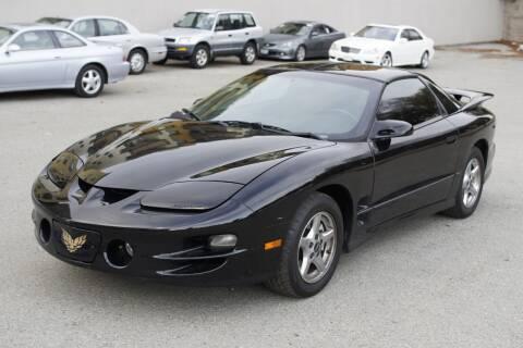 2001 Pontiac Firebird for sale at Sports Plus Motor Group LLC in Sunnyvale CA