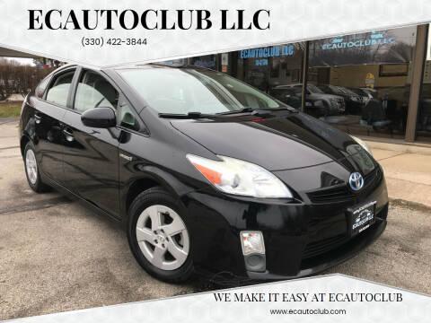 2011 Toyota Prius for sale at ECAUTOCLUB LLC in Kent OH