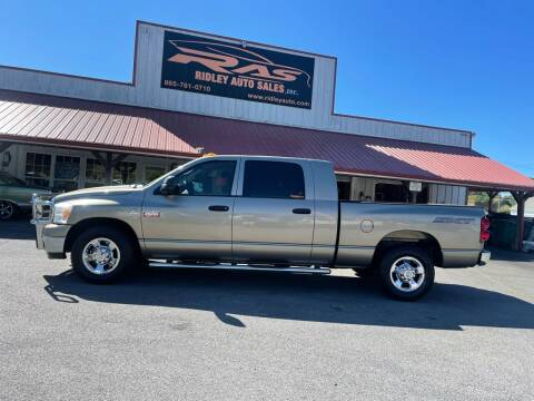 2009 Dodge Ram Pickup 2500 for sale at Ridley Auto Sales, Inc. in White Pine TN