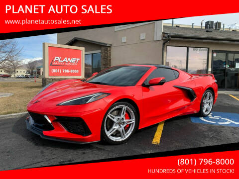 2020 Chevrolet Corvette for sale at PLANET AUTO SALES in Lindon UT
