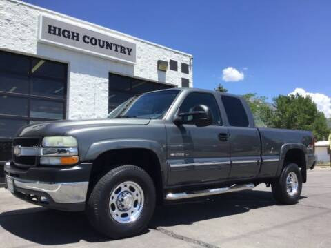 2002 Chevrolet Silverado 2500HD for sale at High Country Motor Co in Lindon UT