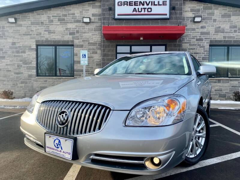 2011 Buick Lucerne for sale at GREENVILLE AUTO & RV in Greenville WI