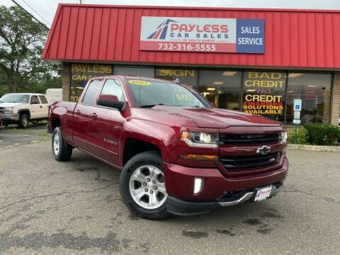2017 Chevrolet Silverado 1500 for sale at PAYLESS CAR SALES of South Amboy in South Amboy NJ
