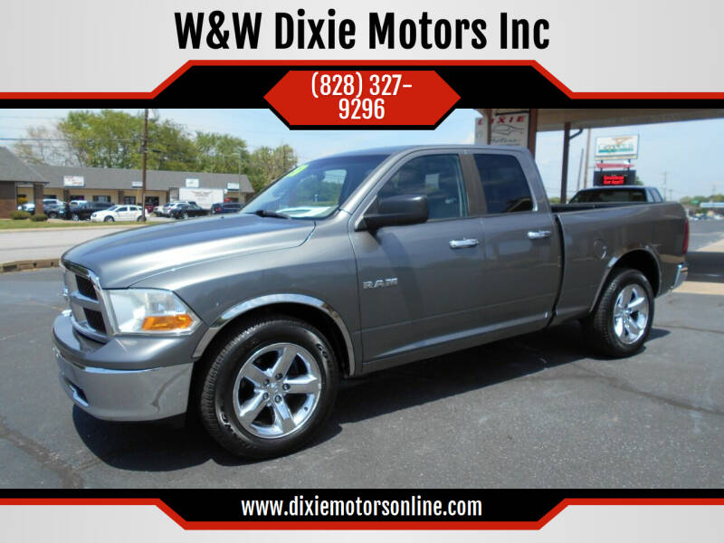 2009 Dodge Ram Pickup 1500 for sale at W&W Dixie Motors Inc in Hickory NC