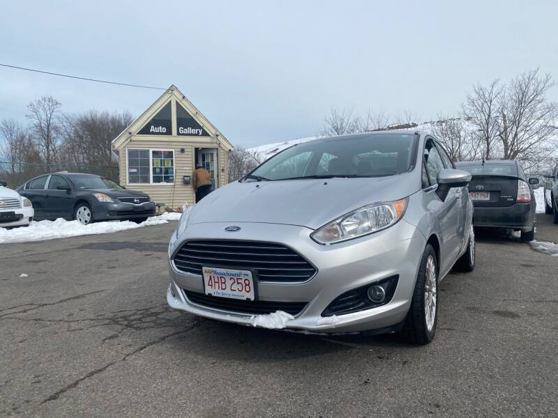 2014 Ford Fiesta for sale at Auto Gallery in Taunton MA