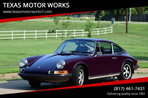 1972 Porsche 911 for sale at TEXAS MOTOR WORKS in Arlington TX