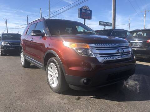 2015 Ford Explorer for sale at Instant Auto Sales in Chillicothe OH