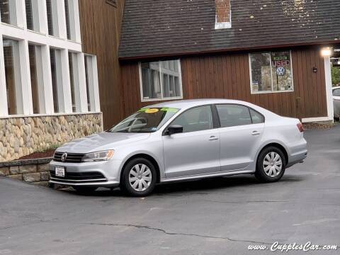 2016 Volkswagen Jetta for sale at Cupples Car Company in Belmont NH