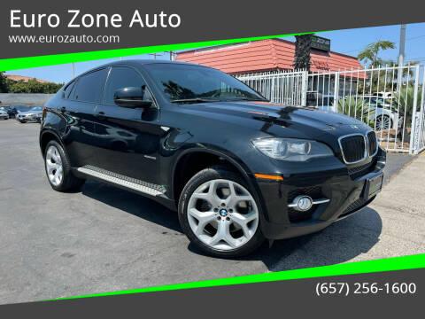2010 BMW X6 for sale at Euro Zone Auto in Stanton CA