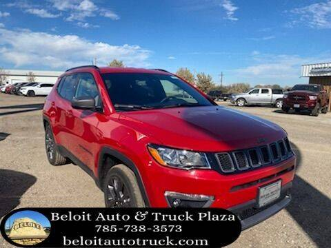 2021 Jeep Compass for sale at BELOIT AUTO & TRUCK PLAZA INC in Beloit KS