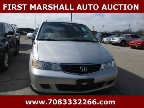 2002 Honda Odyssey for sale at First Marshall Auto Auction in Harvey IL