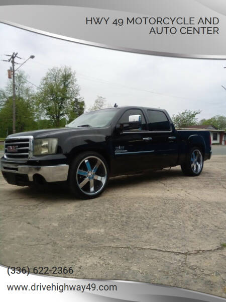 2013 GMC Sierra 1500 for sale at HWY 49 MOTORCYCLE AND AUTO CENTER in Liberty NC