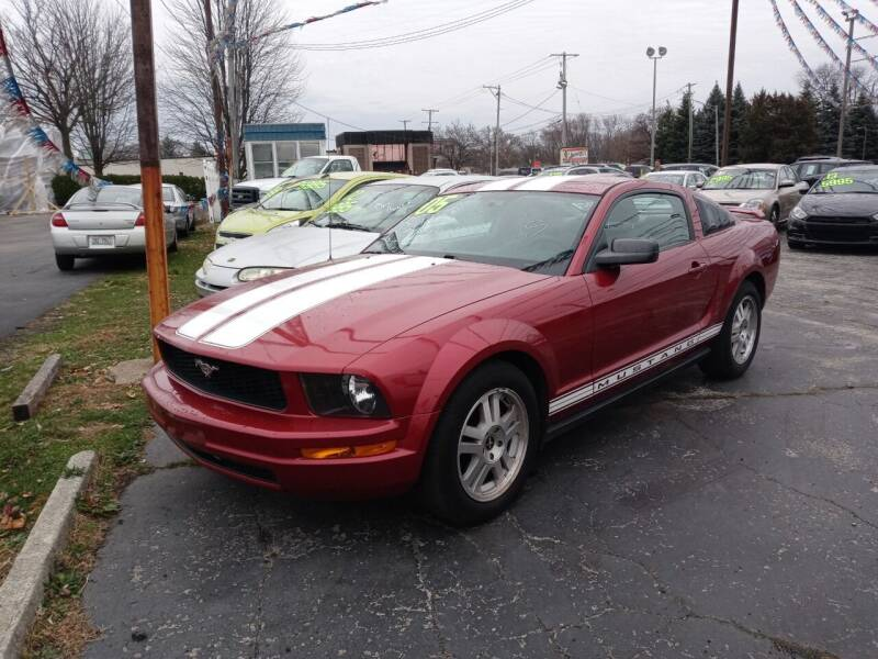 2005 Ford Mustang for sale at Arak Auto Group in Bourbonnais IL