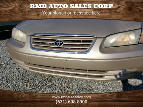 1999 Toyota Camry for sale at RMB Auto Sales Corp in Copiague NY