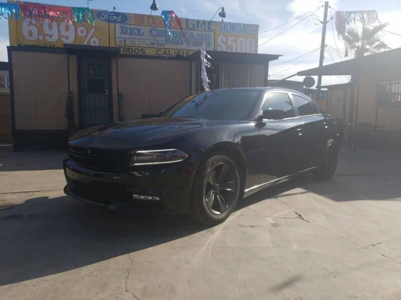 2015 Dodge Charger for sale at DEL CORONADO MOTORS in Phoenix AZ