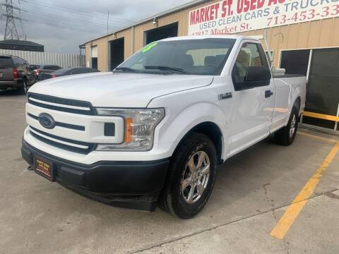 2018 Ford F-150 for sale at Market Street Auto Sales INC in Houston TX