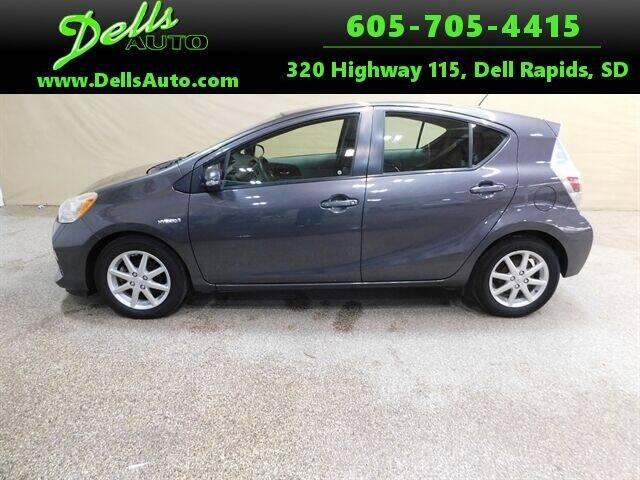 2013 Toyota Prius c for sale at Dells Auto in Dell Rapids SD