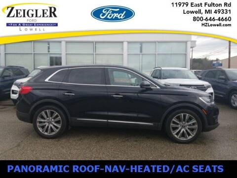 2017 Lincoln MKX for sale at Zeigler Ford of Plainwell- Jeff Bishop in Plainwell MI