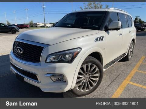 2017 Infiniti QX80 for sale at Sam Leman Chrysler Jeep Dodge of Peoria in Peoria IL