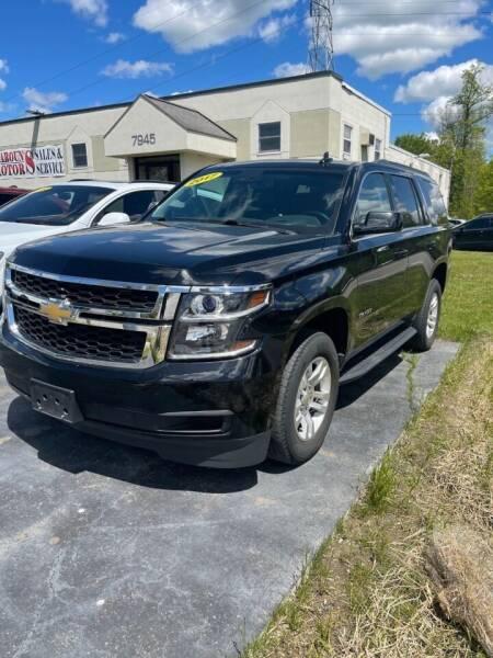 2017 Chevrolet Tahoe for sale at Maroun's Motors, Inc in Boardman OH