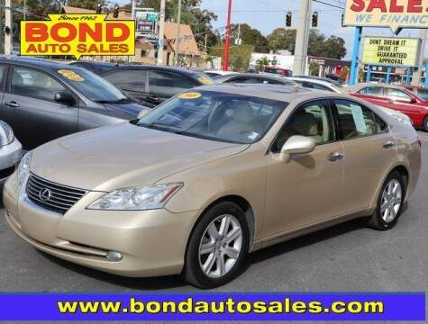 2008 Lexus ES 350 for sale at Bond Auto Sales in St Petersburg FL