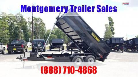 2021 US BUILT 7' X 16' X 3' Bumper Pull 14K for sale at Montgomery Trailer Sales - U.S. Built in Conroe TX