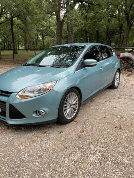 2012 Ford Focus for sale at BARROW MOTORS in Caddo Mills TX