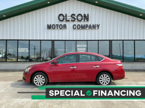 2015 Nissan Sentra for sale at Olson Motor Company in Morris MN