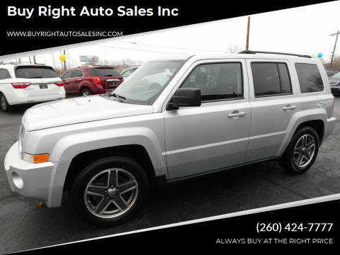 2010 Jeep Patriot for sale at Buy Right Auto Sales Inc in Fort Wayne IN