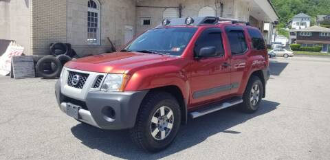 2012 Nissan Xterra for sale at Steel River Auto in Bridgeport OH