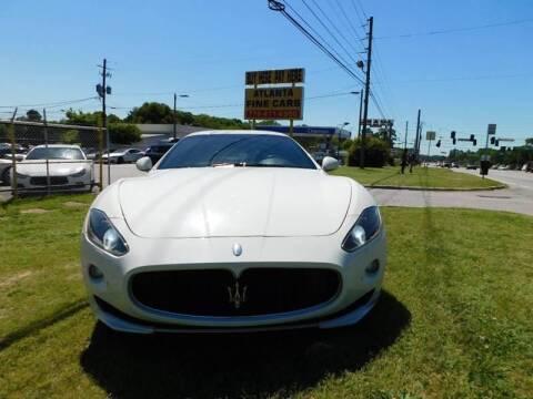 2012 Maserati GranTurismo for sale at Atlanta Fine Cars in Jonesboro GA