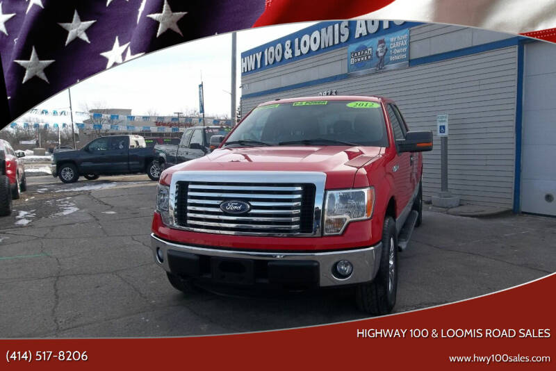 2012 Ford F-150 for sale at Highway 100 & Loomis Road Sales in Franklin WI