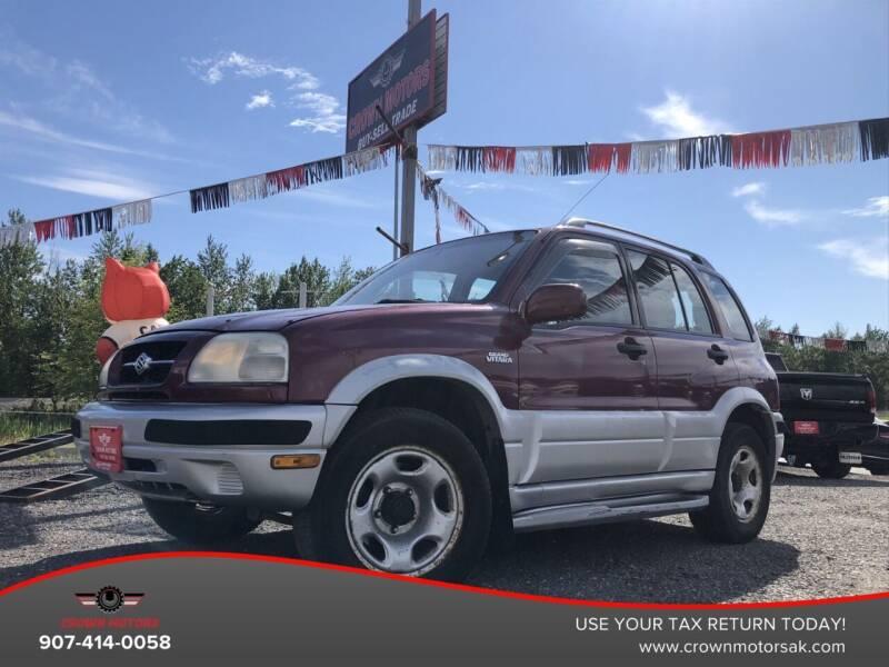 1999 Suzuki Grand Vitara for sale in Wasilla, AK