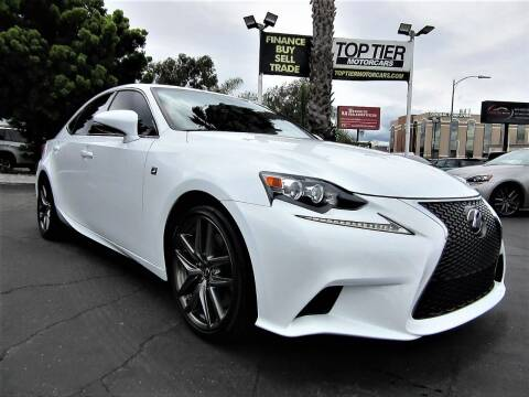 2016 Lexus IS 200t for sale at Top Tier Motorcars in San Jose CA