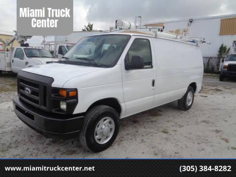 2014 Ford E-150 for sale at Miami Truck Center in Hialeah FL