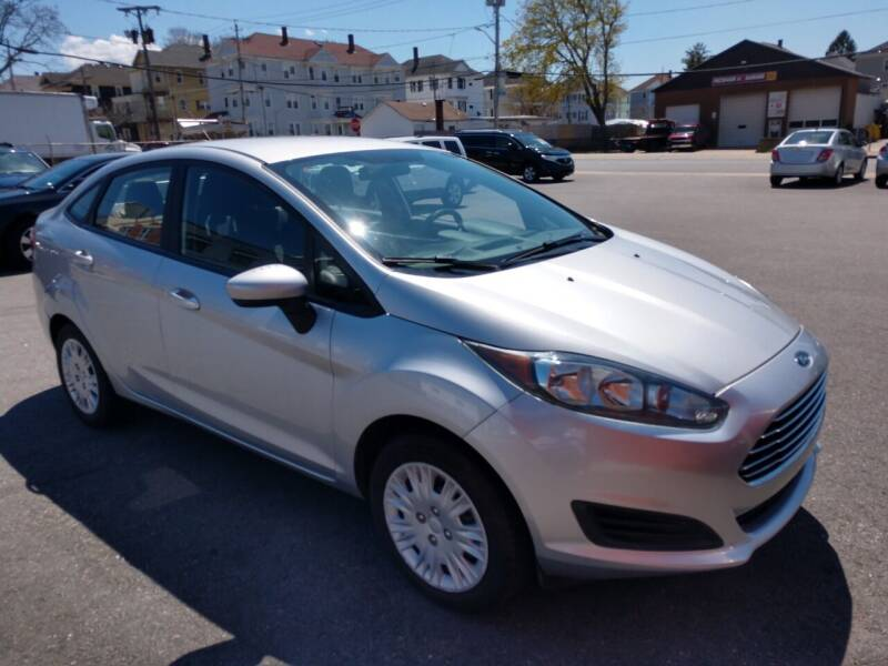 2016 Ford Fiesta for sale at A J Auto Sales in Fall River MA