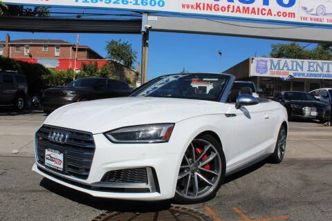 2018 Audi S5 for sale at MIKEY AUTO INC in Hollis NY