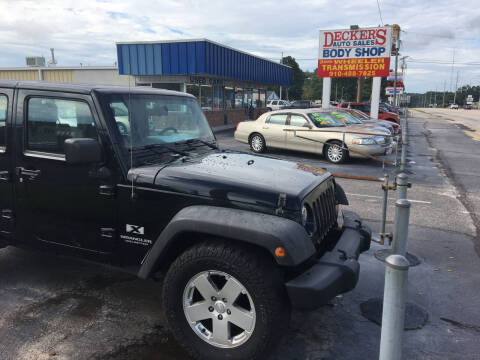 2007 Jeep Wrangler Unlimited for sale at Deckers Auto Sales Inc in Fayetteville NC