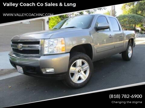 2008 Chevrolet Silverado 1500 for sale at Valley Coach Co Sales & Lsng in Van Nuys CA