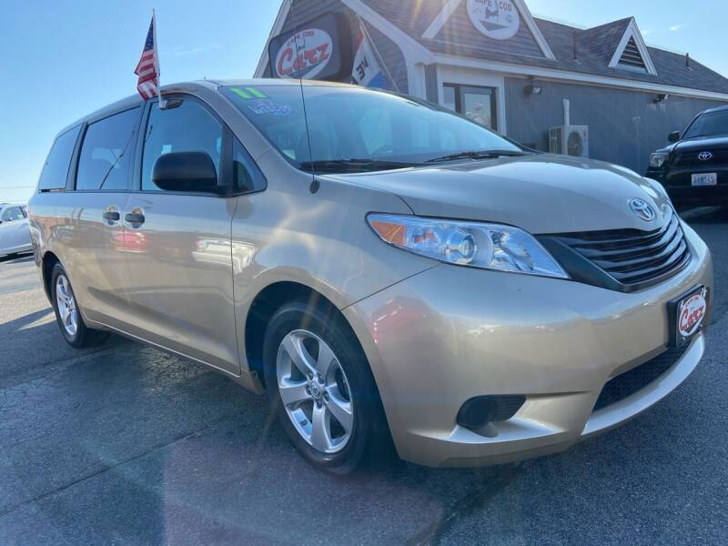 2011 Toyota Sienna for sale at Cape Cod Carz in Hyannis MA