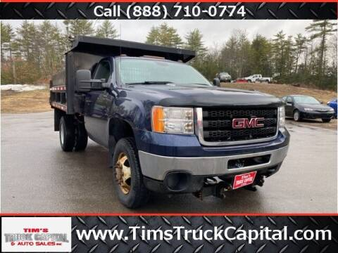 2012 GMC Sierra 3500HD CC for sale at TTC AUTO OUTLET/TIM'S TRUCK CAPITAL & AUTO SALES INC ANNEX in Epsom NH