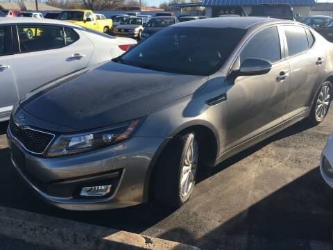 2015 Kia Optima for sale at A & G Auto Sales in Lawton OK