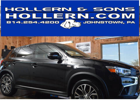 2019 Mitsubishi Outlander Sport for sale at Hollern & Sons Auto Sales in Johnstown PA