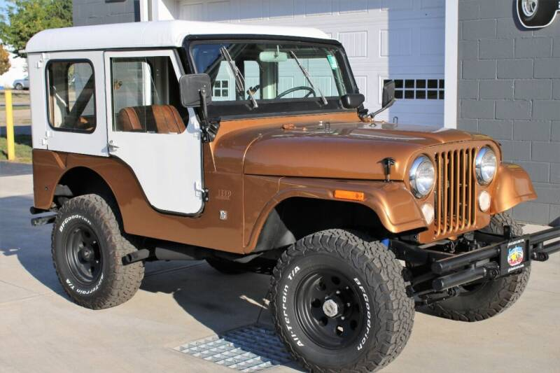 1971 Jeep CJ-5 for sale at Great Lakes Classic Cars & Detail Shop in Hilton NY