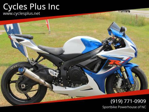 2017 Suzuki GSXR 750 for sale at Cycles Plus Inc in Garner NC