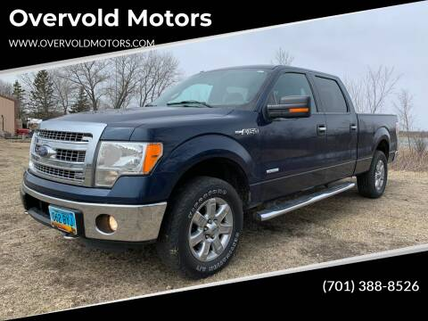 2013 Ford F-150 for sale at Overvold Motors in Detriot Lakes MN