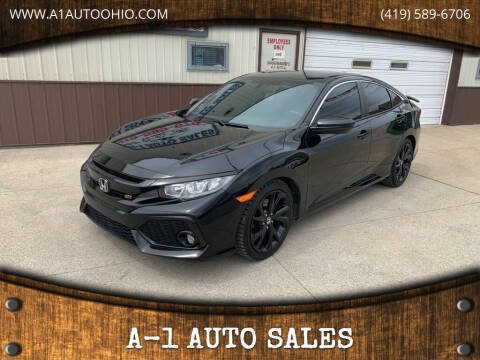 2017 Honda Civic for sale at A-1 AUTO SALES in Mansfield OH